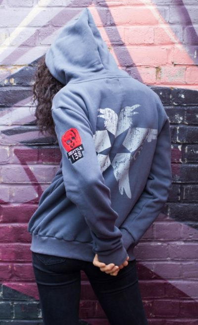 Infamous second son women hoodie