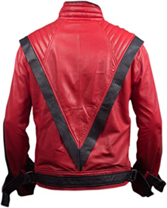 Michael Jacksons Red Leather Jacket