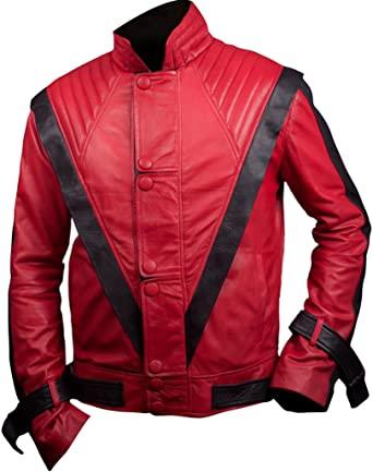 Michael Jackson Thrilller Red Jacket