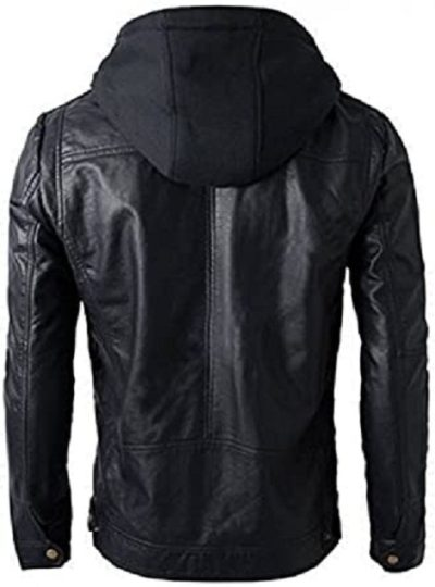 Leather Jacket Biker Jacket SID