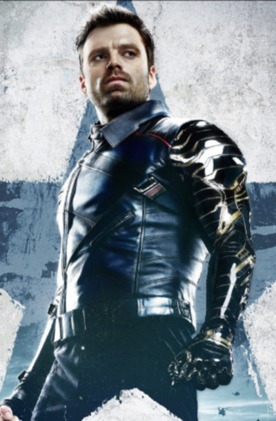 The Falcon and the Winter Soldier Sebastian Stan Blue Jacket