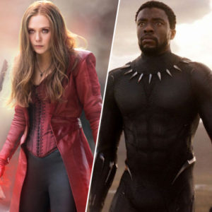 Black Panther Jacket and Scarlet Witch Coat