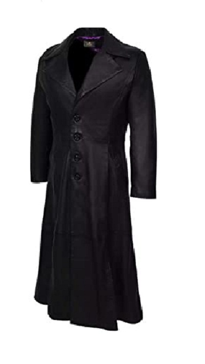 Black Dracula Trench Coat