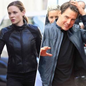 Rebecca Ferguson and Tom Cruise Jacket