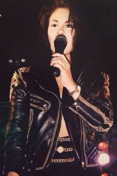 selena quintanilla black jacket