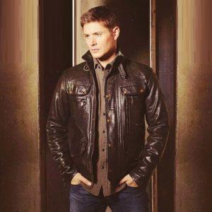 Dean Winchester Supernatural Black jacket for Men