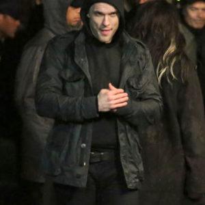 Ed Skrein Deadpool Ajax black Cotton jacket