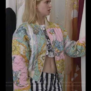 Emily In Paris Brooklyn Clarks Bomber coat for Women