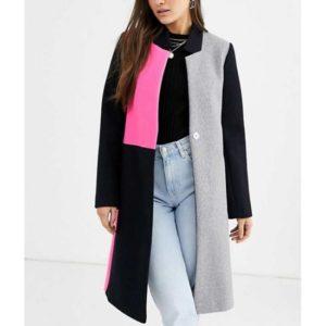 Emily Cooper Emily in Paris Color Block coat