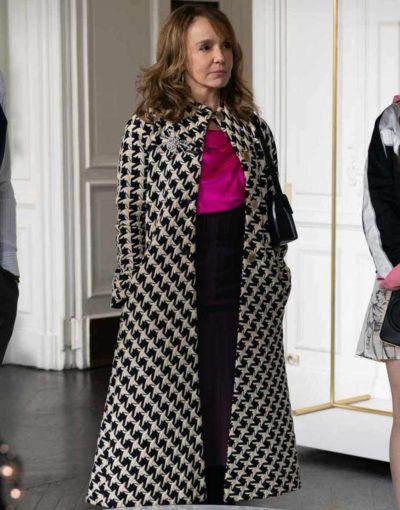 Emily in Paris Sylvie Cloak Coat for Women
