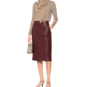 Nicole Kidman The Undoing Grace Fraser Leather Skirt
