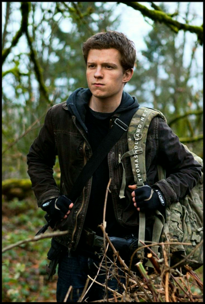 chaos walking tom holland jacket with hoodie