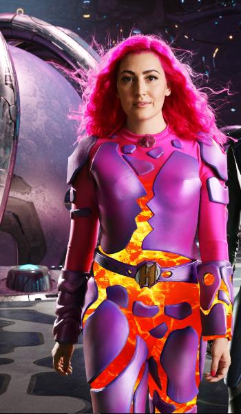 lava girl costume