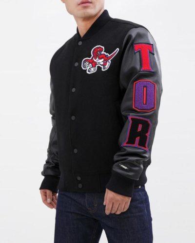 toronto raptors bomber jacket