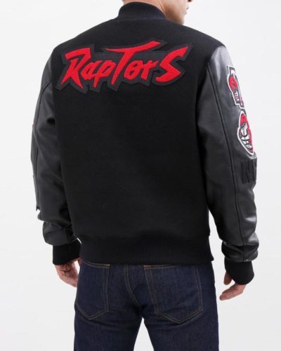 toronto raptors varsity jacket