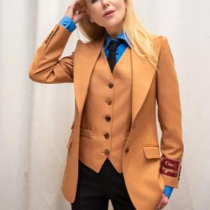 The Undoing Nicole Wool coat