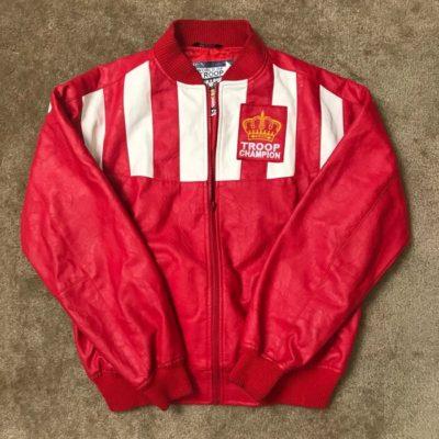 LL Cool J Troop Red Jacket