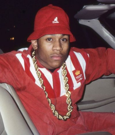 LL Cool J Troop Red Leather Jacket