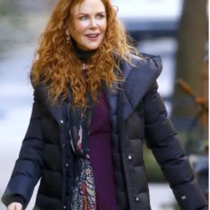 Nicole Kidman Puffer Coat the Undoing TV Series