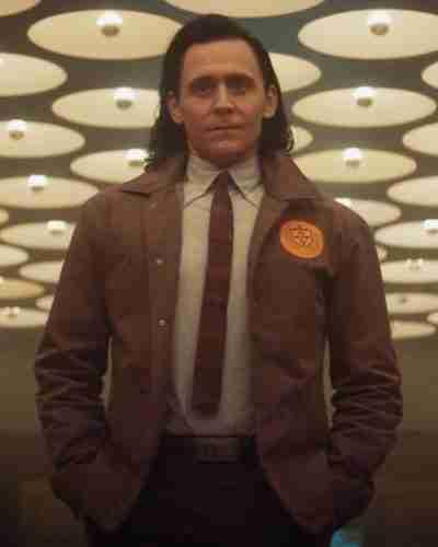 Tom Hiddleston Loki 2021 Brown Loki Coat