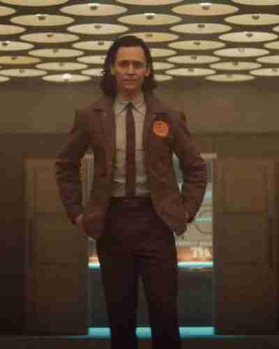Tom Hiddleston Loki Brown Coat