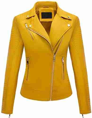 Yellow Bellivera Womens Jacket