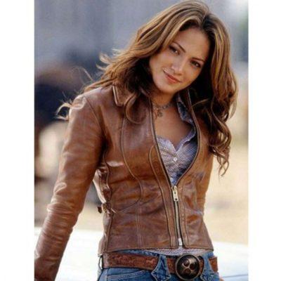 jennifer lopez Brown jacket for Women