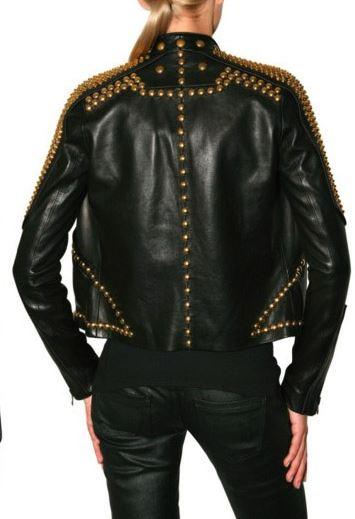 kendall jenner studded leather jacket