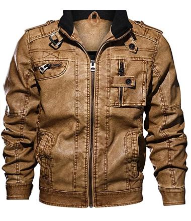 men-brown-denim-jacket