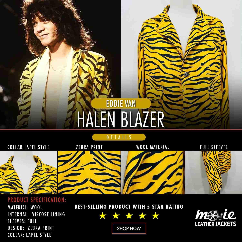 Eddie Van Halen Blazer copy
