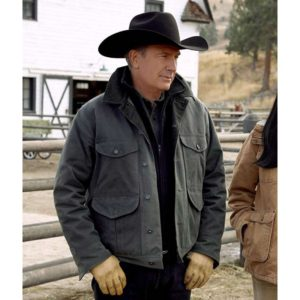 KEVIN COSTNER YELLOWSTONE S02 GREEN JACKET