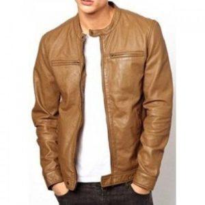 Men-Light-Brown-Fashion-Leather-Jacket