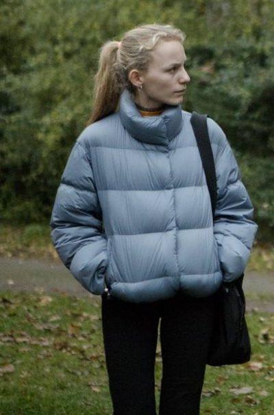 cry wolf flora ofelia puffer jacket