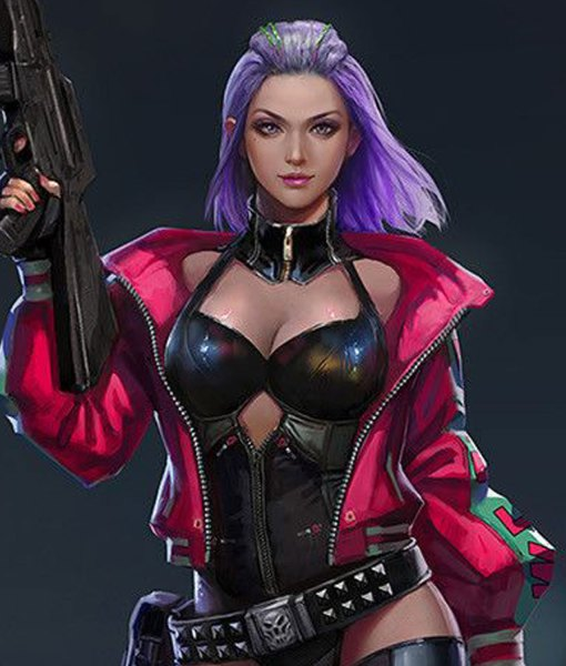 Cyberpunk 2077 Kira Madroxx Excellent Jacket - Movie Leather Jackets
