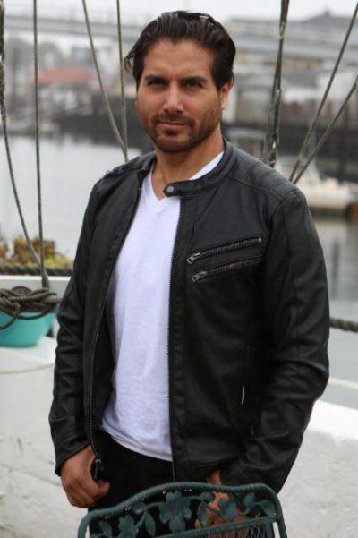 james respite monte bezell black leather jacket