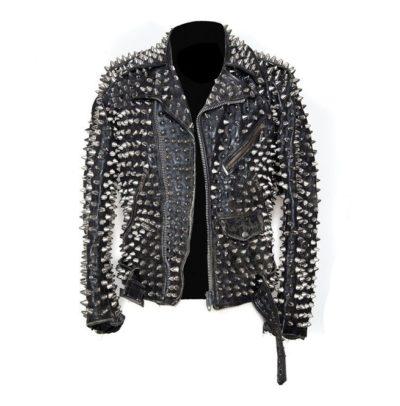 men-silver-studded-custom-patches-long-spike-brando-belted-rocker-jacket