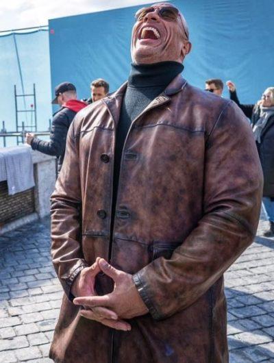 red notice dwayne johnson jacket