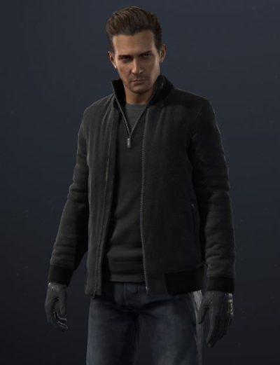 uncharted rafe adler bomber jacket