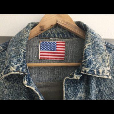 us navy denim jacket