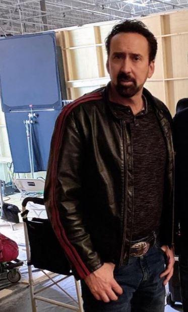 willy's wonderland janitor leather jacket