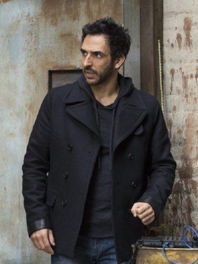 Amir Arison The Blacklist Amir Wool Jacket