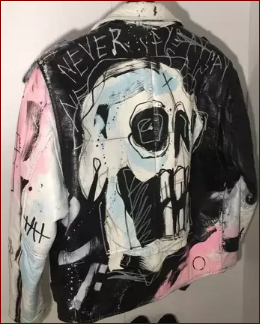 lil-peep-never-say-die-painted- painted -jacket