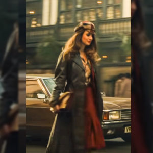 Cruella Emily Beecham Long Coat