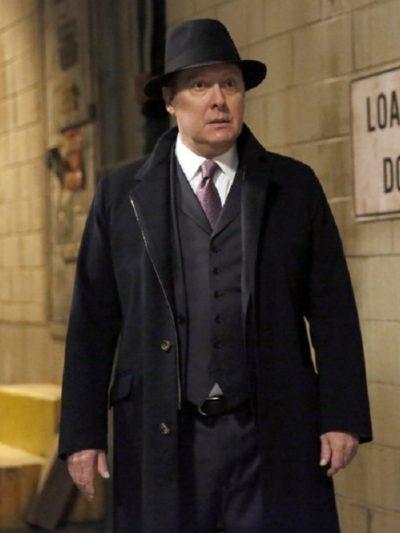 James Spader The Blacklist Reddington Wool Coat