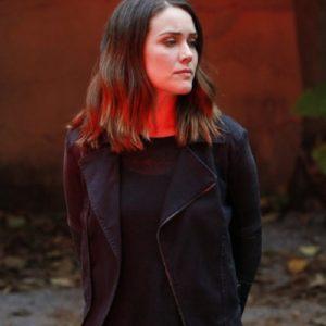 Megan Boone The Blacklist Black Jacket