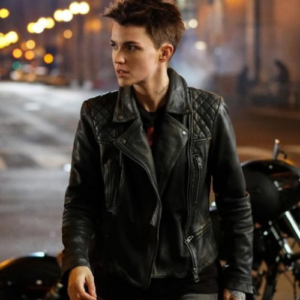 Katherine Kane Batwoman Leather Jacket