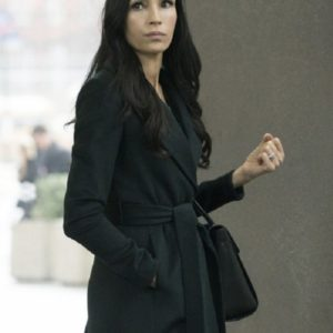 The Blacklist Famke Janssen Black Coat