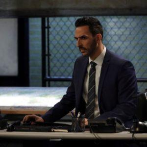 The Blacklist Season 8 Amir Arison Blue Coat