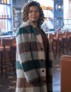 The-Equalizer-Queen-Latifah-Checked-Coat