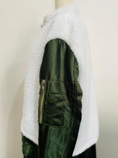 The Equalizer Queen Latifah Green White Coat